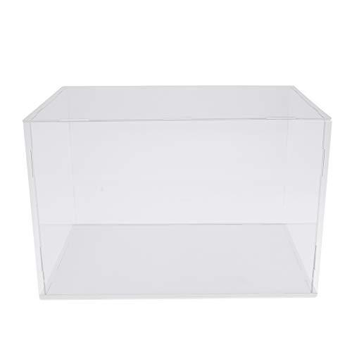 Milageto Caja de Exhibición de Acrílico Caja de Metacrilato Cubo de Protección a Prueba de Polvo para de Acción