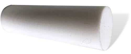 50 mm Ø PTFE Rundstab Mindestlänge 1000 mm (Teflon)