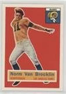 Norm Van Brocklin (Football Card) 1994 Topps Archives 1956 Series - [Base] #6