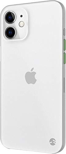 【SwitchEasy】 iPhone12mini 対応 ケース 薄型 携帯ケース 0.35mm 超薄型0.35 トランスパレントホワイト