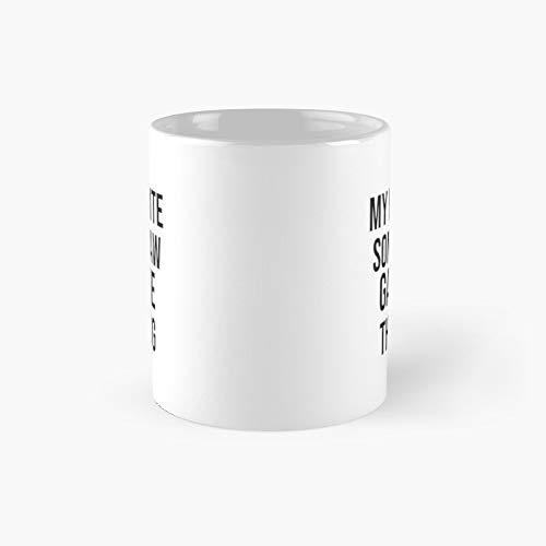 My Favorite Son in Law Gave Me This Mug Classic Mug Best Gift Funny Coffee Mug 311,8 g