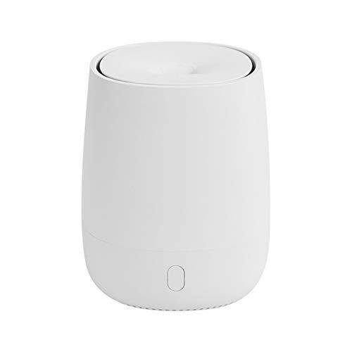llsdls Difusor de aromaterapia humidificador de Aire Amortiguador de Aire Aroma difusor máquina de Aceite Esencial Aceite ultrasónico Fabricante de Niebla silenciosa (Color : White)