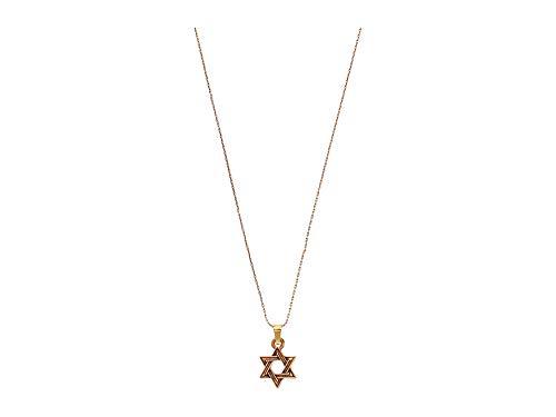 Alex and Ani Star of David IV 32' Expandable Necklace Rafaelian Gold One Size