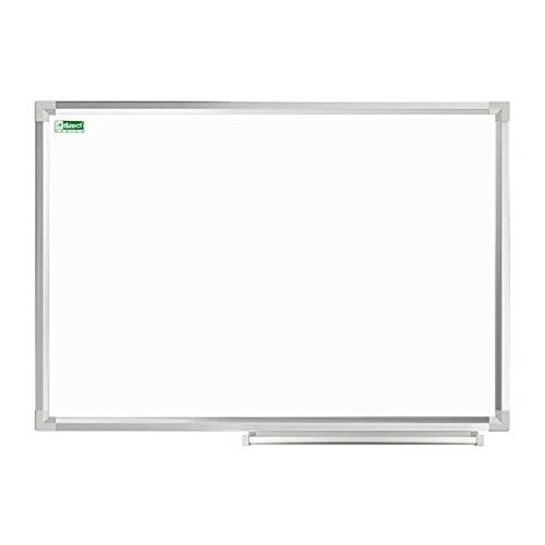 D.RECT Magnetisk whiteboard med aluminiumlister, kan torkas av, 60 x 45 cm (B x H)
