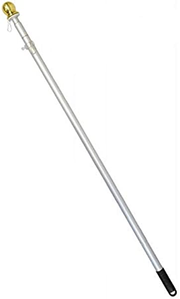 The Flag Joint 6ft Aluminum Hand Held Pole