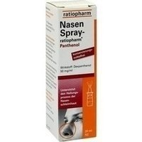 NasenSpray-ratiopharm Panthenol, 20 ml