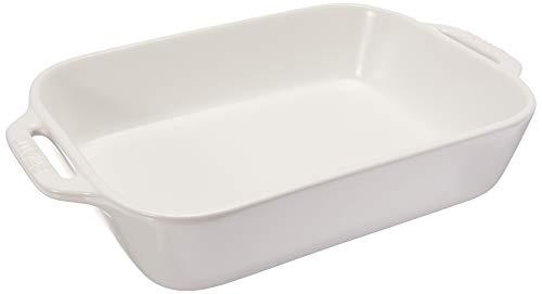 Matte White Baking Dish