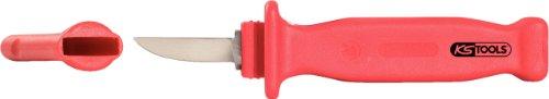 KS TOOLS 117.1393 Couteau isolé en caoutchouc naturel L.200 mm