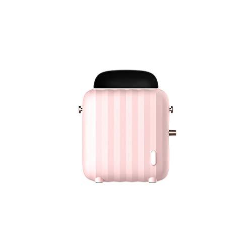 oil-LIKIO Space Heaters Portable Fan Heater Mini Home Desktop Heater Warm Air Blower For Office Worker (Pink) Heater Oil Space