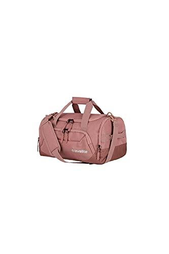travelite borsa da viaggio dimensione S come bagaglio a mano, serie KICK OFF: pratica piccola borsa da viaggio per le vacanze e lo sport, 40 cm, 23 litri, colore rosato