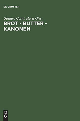 Brot - Butter - Kanonen. Die Ernährungswirtschaft in Deutschland unter der Diktatur Hitlers