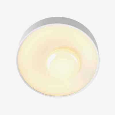 Lámpara de Pared/Techo Redonda LED 26,6W con difusor de metacrilato Opal, Modelo Sun 40, Color Blanco, 9,6 x 40 x 40 centímetros (Referencia: A671-005)
