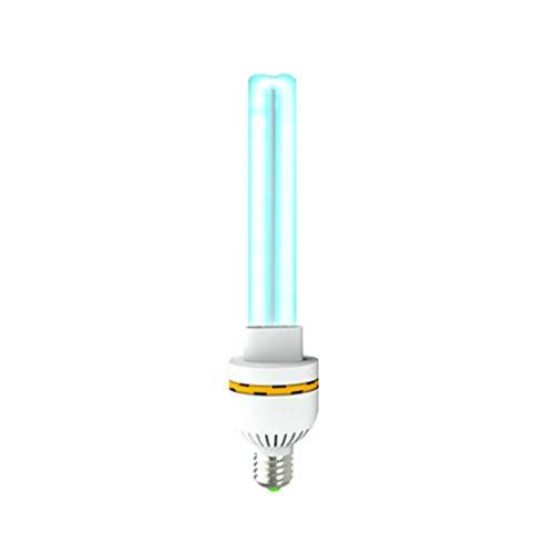 YZR Uv-sterilisatielicht E-27 ozon, uv-lamp, tue 99,9% van de bacteriën, schimmelvirussen, verwijdert geuren, zuivere lucht, voor huis, keuken, wc