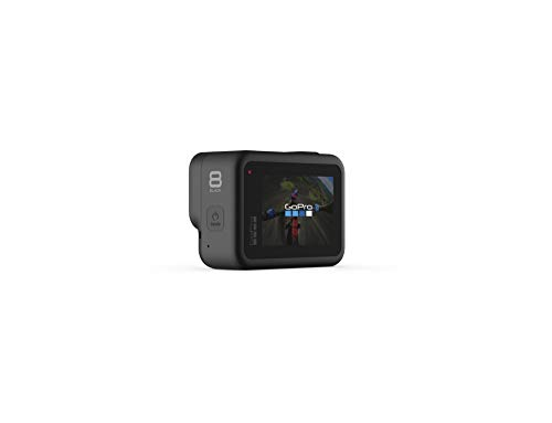GoPro HERO8 Black + PNY Elite-X 128GB U3 microSDHC Card (Bundle) 2 BUNDLE: GoPro HERO8 Black Camera + PNY SD Card STREAMLINED DESIGN - The re-imagined shape is more pocketable, and folding fingers at the base let you swap mounts quickly. A new side door makes changing batteries even faster, and the lens is now 2x more impact-resistant. HERO8 BLACK MODS - Vloggers, pro filmmakers and aspiring creators can do more than ever imagined – with quick-loading accessories like flashes, microphones, LCD screens and more. Just add the optional Media Mod to up your capture game.