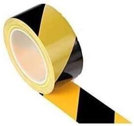 depot JUZZQ Safety Marking Barrier Adhesive Black Tape Yellow Phoenix Mall PVC Haza