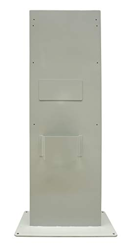 EV Charge Solutions DC Fast Charger Pedestal for 25kW Delta Wallbox and 24kW ABB Electric Vehicle Charging Station