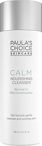 Paula's Choice Calm Gel Limpiador Facial - Limpieza los Poros, el Maquillaje y Combate Puntos Negros - para Pieles Sensibles con Glicerina & Aloe Vera - Pieles Mixtas a Grasas - 198 ml