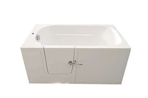 Begehbare Badewanne, Seitentür, niedriger Einstieg (1500 mm Linkshänder)