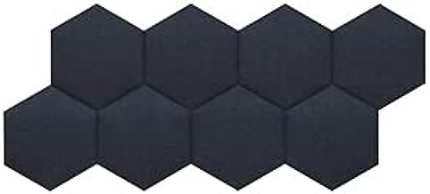 インテリアパネルOTTO R 六角354mm 8枚セット(単色) (ミッドナイトブルー(テープ))