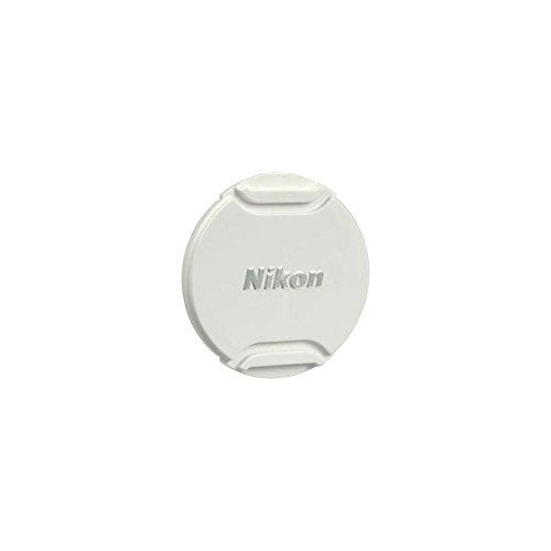 White Nikon LC-N40.5 Front Lens Cap for 1 Nikon