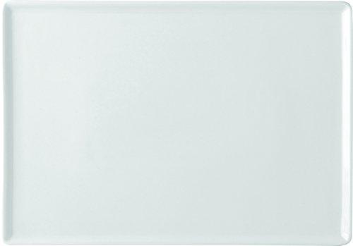 Utopia K90065 Titan Savannah Assiette, rectangulaire, 26 x 17,8 cm, 26 cm x 18 cm (lot de 6)
