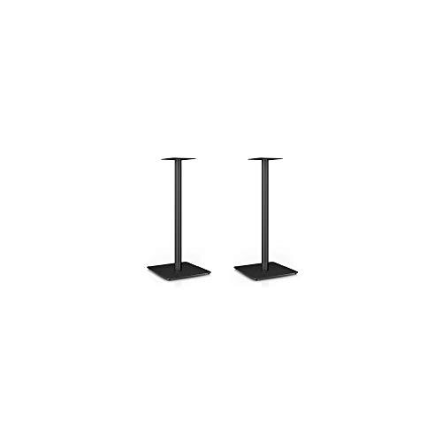 Nubert MS-67 Boxenstativpaar | Stative für Kompaktlautsprecher von Nubert | Höhe 67 cm | stabile Lautsprecherständer | Ideal für Surroundlautsprecher | Original Nubert Zubehör | Schwarz | 2 Stück