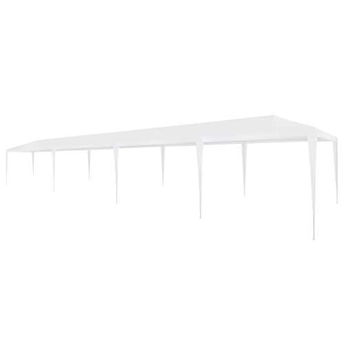 vidaXL Party Tent 3x12m PE White Outdoor Garden Gazebo Marquee Canopy Pavilion
