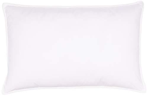 WEEKENDER Alternative Hotelqualität, Bezug aus 100 % Baumwolle, weich, hypoallergen, 2 Stück (33 x 58,4 cm), Standard