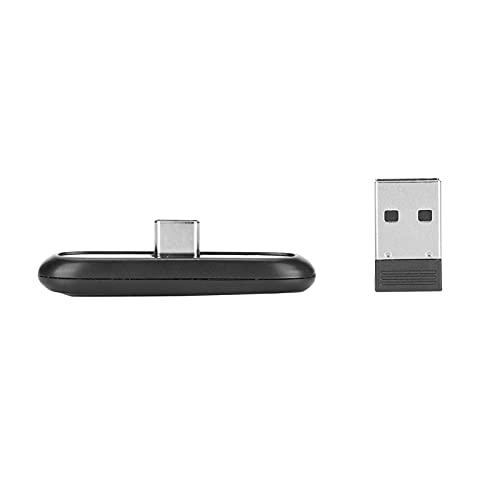 Adaptador inalámbrico Bluetooth Dongle 5.0 Transmisor de Audio Tipo C Adaptador inalámbrico Bluetooth Adaptador USB para Windows 10/8/7 / XP Adecuado para Switch / PS4 / PC
