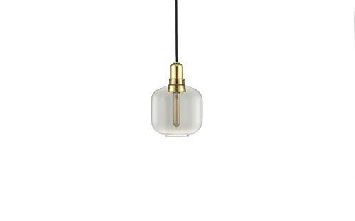 Normann Copenhagen - Amp Brass Hängeleuchte klein - Rauch/Messing - Simon Legald - Design - Pendelleuchte - Wohnzimmerleuchte