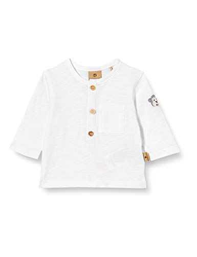 Bellybutton mother nature & me Baby-Jungen 1/1 Arm T-Shirt, Weiß (Bright White|White 1000), (Herstellergröße: 86)