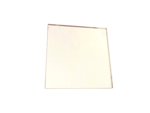 Ajax Scientific - LI180-0100 - Miroir en verre uni - 10 cm de longueur x 10 cm de largeur
