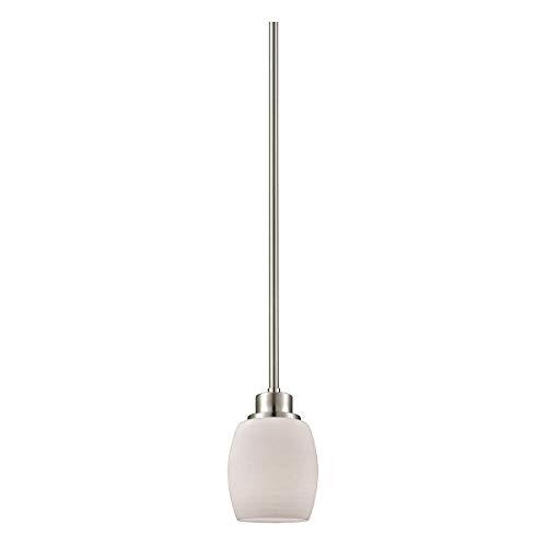 Thomas Lighting CN170152 Mini Pendant, Brushed Nickel