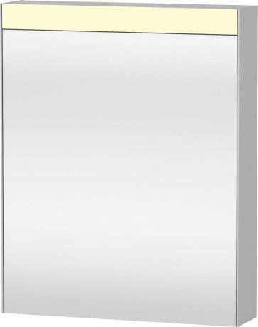 Duravit Beste spiegelkast 610 mm, 1 spiegeldeur links scharnierend, alleen opbouw - LM7840L0000