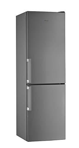 Whirlpool Freestanding W5811EOXUK 1 Fridge Freezer, 339L total capacity, 60cm wide, Stainless Steel