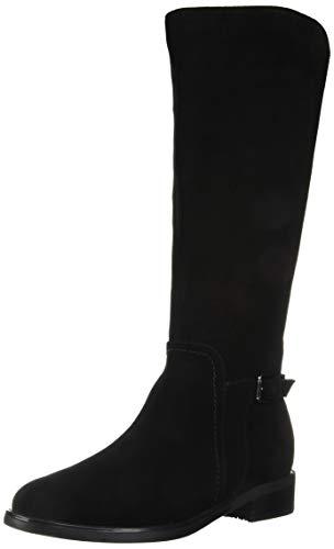 Blondo womens Evie Waterproof Fashion Boot, Black Suede, 8.5 US