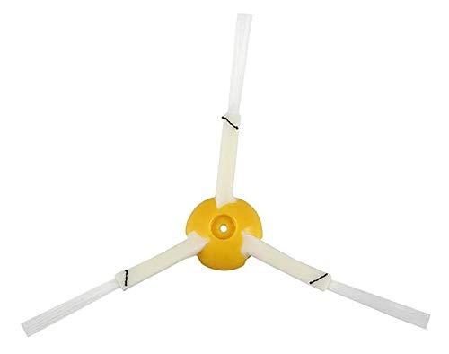 Decdeal Aspirador de pó para robô Substituição de escova lateral para iRobot Roomba 800 900 Series 870 880 970 980 984 Vassoura de limpeza robótica