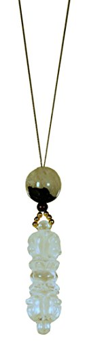 Remembering Tibetan Refugees Necklace / Naga Land Tibet Sacred Stones Amulet