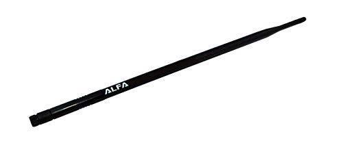 Alfa - Amplificador de señal WiFi (9dBi, SMA, antena omnidireccional, para Alfa, WUS036H, WUS050NH y WUS036EH)