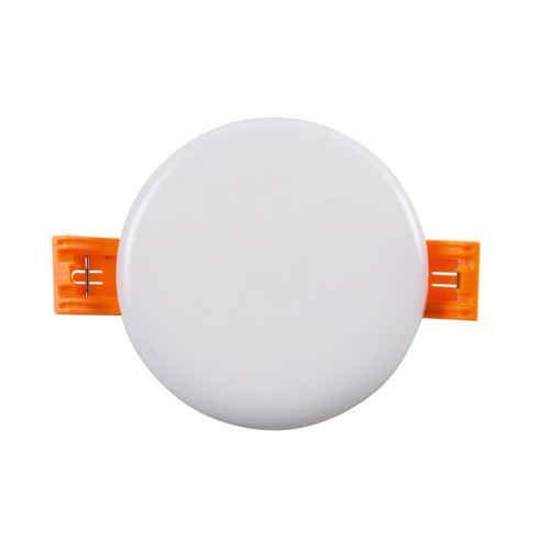 Heitronic LED-Panel, Kunststoff, 6 W, Weiß