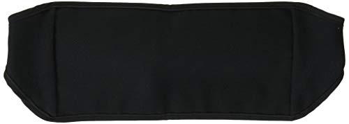 Amina 旅行用 シークレットベルト 腹巻き 仕様 の ウエストポーチ (パスポート などに) Sサイズ ブラック