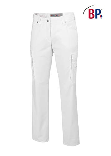BP 1642-686-21-42n dżinsy damskie, 5-kieszeniowe dżinsy, 230,00 g/m² mieszanka materiałów ze stretchem, kolor biały, 42n