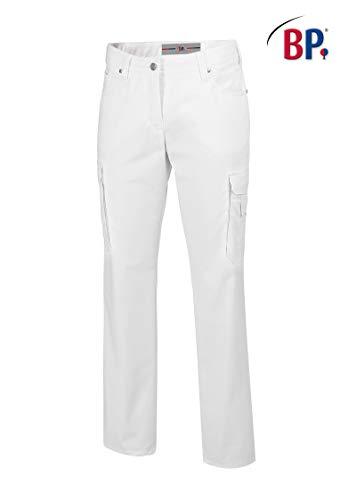 BP1642-686-21-20n Jeans für Frauen 5-Pocket-Jeans 230,00 g/m² Stoffmischung mit Stretch, weiß 46n