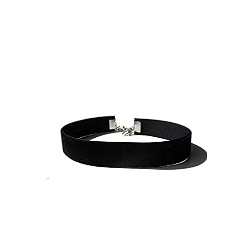 Aibada Velvet Chokers Black Ribbon Choker Collares para mujeres niñas,6 piezas