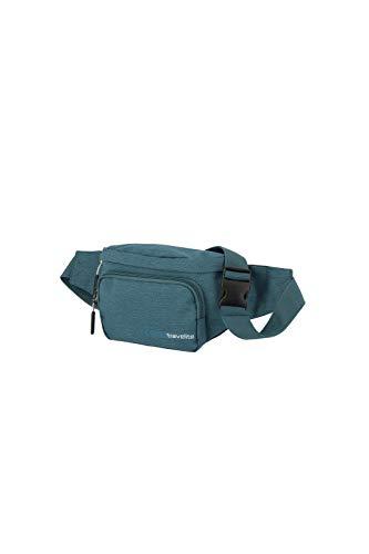 travelite Handgepäck Bauchtasche, Gepäck Serie KICK OFF: Praktische Gürteltasche für Urlaub und Sport, 006919-22, 30 cm, 5 Liter, petrol (türkis)