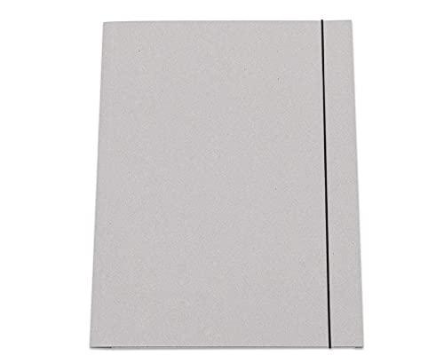 Unbekannt Sammelmappe DIN A3-10 x Aufbewahrungs-Mappe Gummi-Band Ordnungsmappe