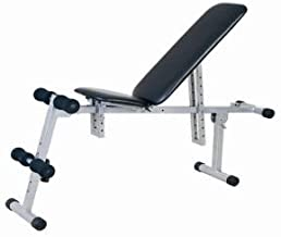 Skyland Sit Up Multi Function Bench - Black and Gray, EM-1525