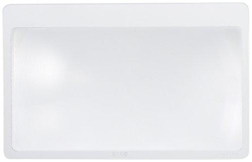 シンワ測定(Shinwa Sokutei) ルーペ U-3 シートレンズ 3.5倍 カードサイズ 75505