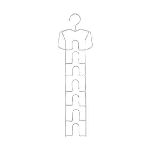Organizador de armario con estante de corbata TIET BARDER BARRA DE RAND DE CAMBIO DE ALMACENAMIENTO DE ALMACENAMIENTO EQUIPO DE ALMACENAMIENTO -Soporte de la bufanda for el dormitorio,el armario de la
