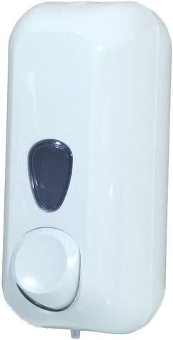 CLIVIA® Seifenspender, 55 plus, Acrylnitril-Butadien-Styrol, abschließbar, 10,2 x 9 x 21,6 cm, weiß, Sie erhalten 1 Stück